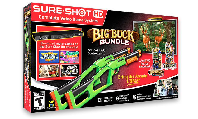Sure Shot-HD Big Buck Bundle - www.SureShotHD.com $99.00Available on Amazon & SureShotHD.com