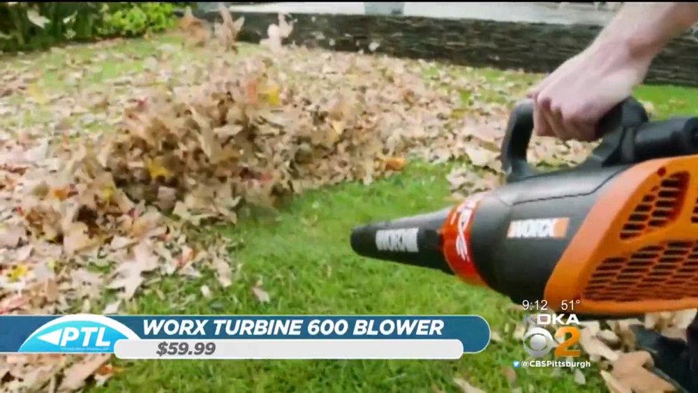 WORX TURBINE 600 BLOWER - $59.99www.worx.com(800) 859-2501