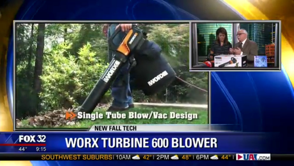 Worx Turbine 600 Blower - $59.99 www.worx.com(800) 859-2501