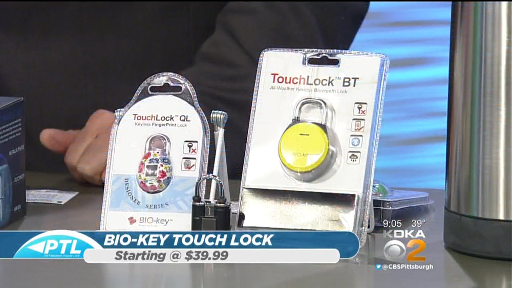 Bio-Key TouchLock - Starts at $39.99Shop Now