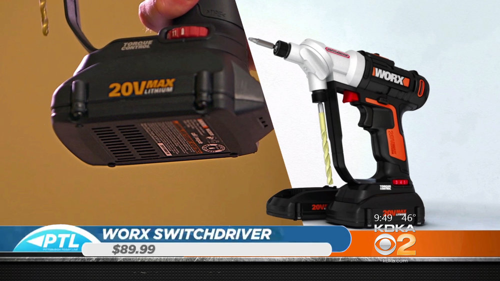 WORX SWITCHDRIVER - DUAL ROTATING - $89.99Shop Now