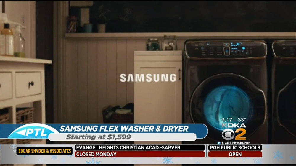 SAMSUNG FLEX WASHER & FLEX DRYER - Starting at $1599Shop Now