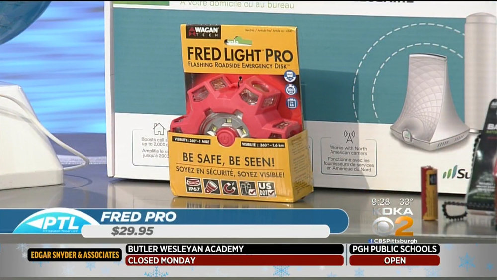 FRED PRO (FLASHING ROADSIDE EMERGENCY DISC) - $29.95Shop Now