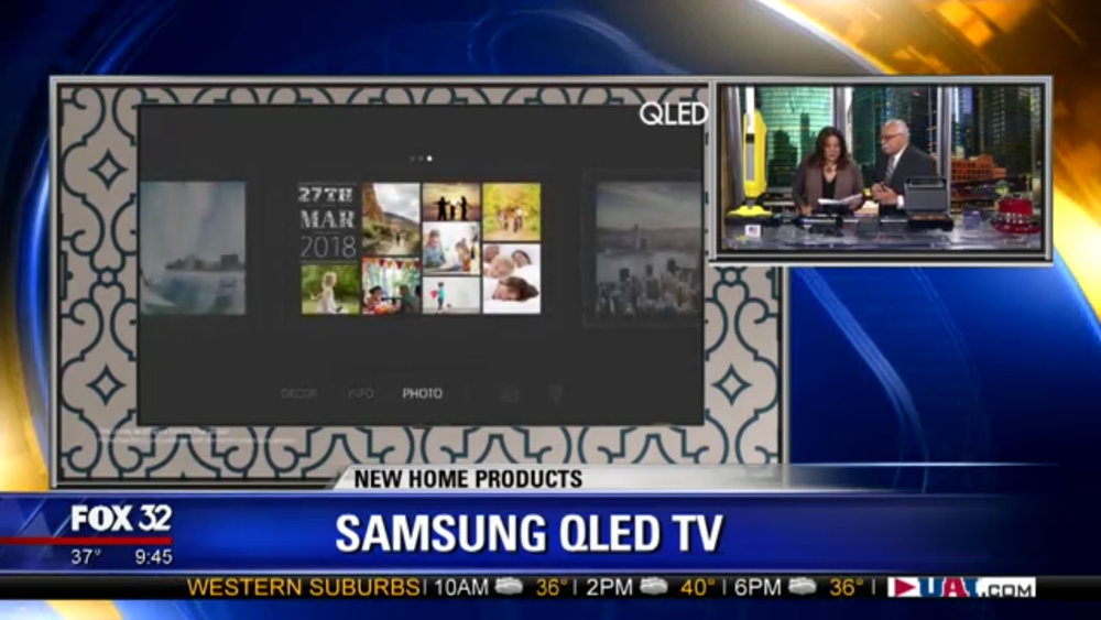 SAMSUNG QLED-TV with AMBIENT MODE - Price TBDShop Now