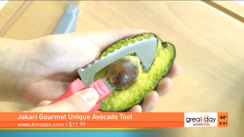 JOKARI GOURMET UNIQUE AVOCADO TOOL - Suggested retail: $11.99Shop Now