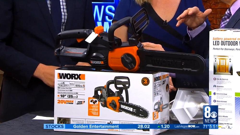 WORX CORDLESS CHAINSAW –POLESAW - $79.99 to $149.99Shop Now