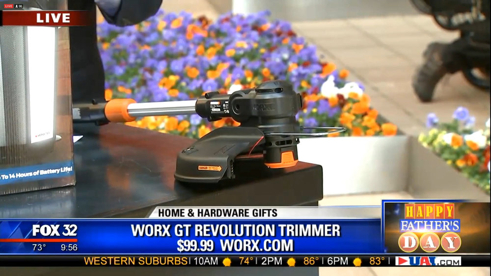 WORX GT REVOLUTION TRIMMER - $99.99Shop Now