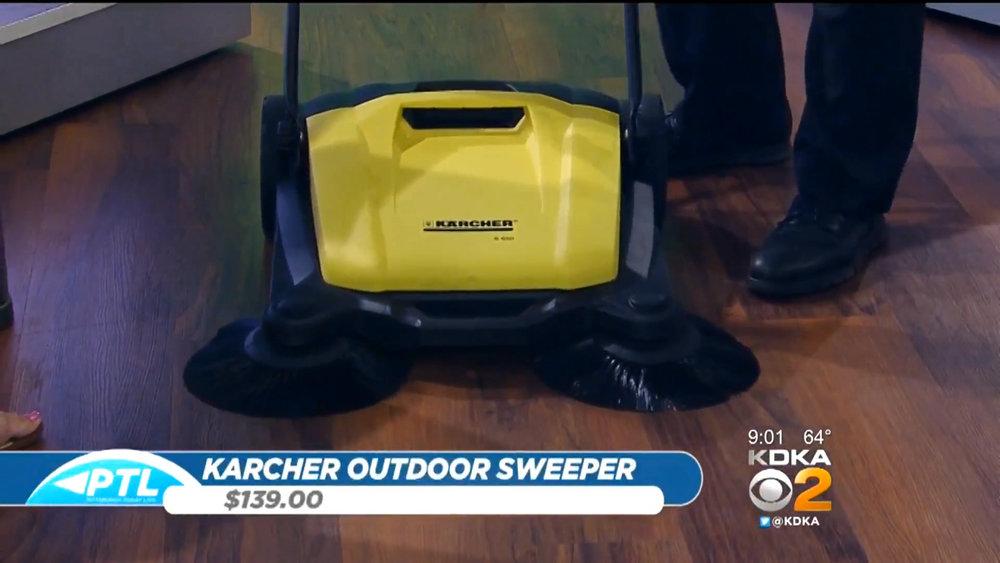 KARCHER S-650 OUTDOOR SWEEPER - $139.00Shop Now