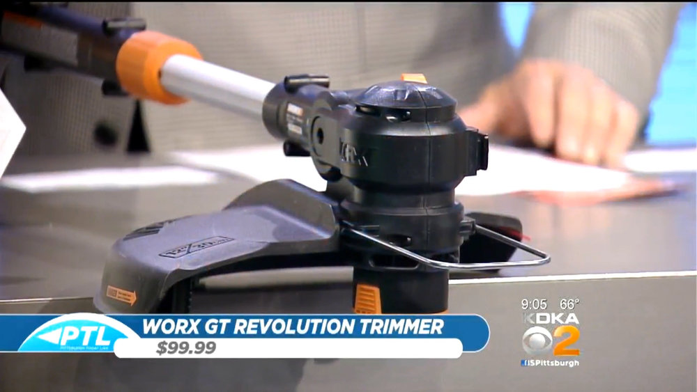 WORX GT REVOLUTION TRIMMER - $99.99Shop Now