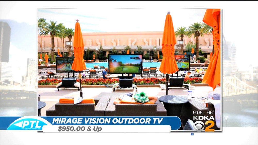 MIRAGE VISION OUTDOOR TV - Starts at $950Shop Now