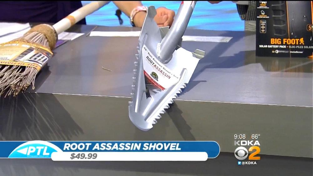 ROOT ASSASSIN SHOVEL - $49.99Shop Now