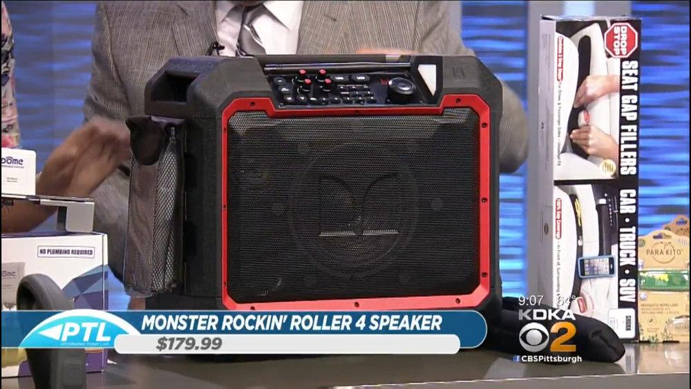 MONSTER ROCKIN' ROLLER 4 (RUGGED BLUETOOTH SPEAKER - $179.99Shop Now (via Sam's Club)
