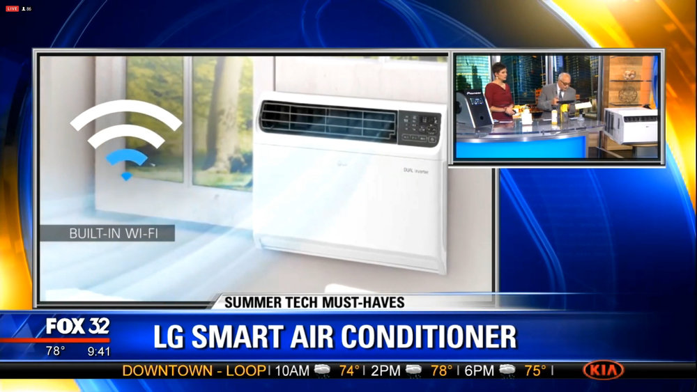 LG DUAL INVERTER SMART AIR CONDITIONER - Starts at $469.00 Shop Now