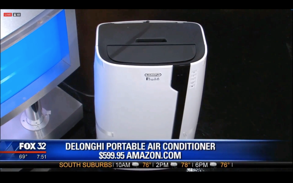 DeLONGHI PORTABLE AIR CONDITIONER - $599.95Shop Now