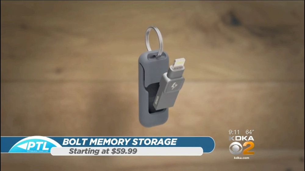 BOLT (IPHONE & IPAD MEMORY STORAGE) - Starting at $59.99Shop Now
