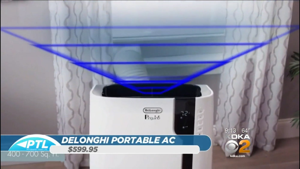 DeLONGHI PORTABLE AIR CONDITIONER - $599.95 suggested retailShop Now
