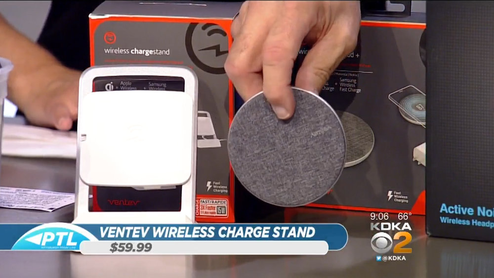 VENTEV WIRELESS CHARGE STAND - $59.99Shop Now