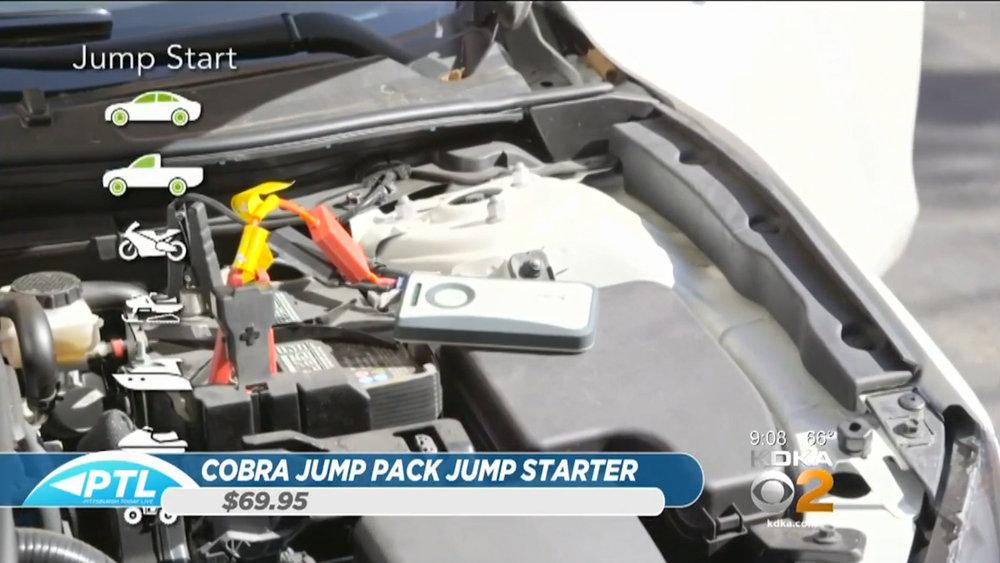 COBRA JUMP PACK JUMP STARTER - $69.95Shop Now
