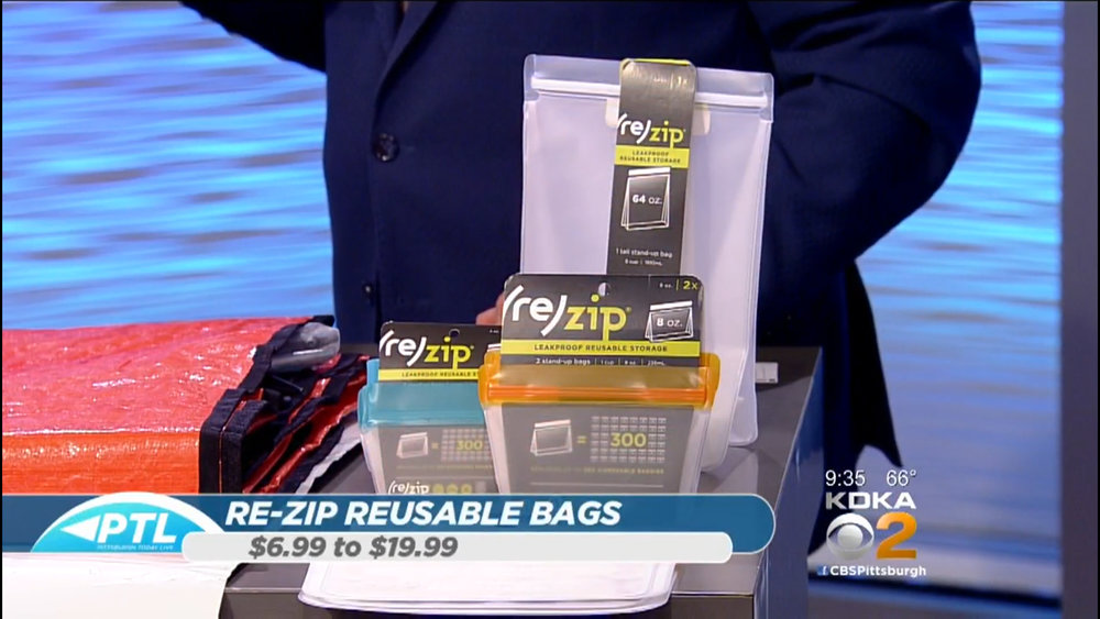 RE-ZIP RESUABLE STORAGE BAGS - $6.99 to $19.99Shop Now