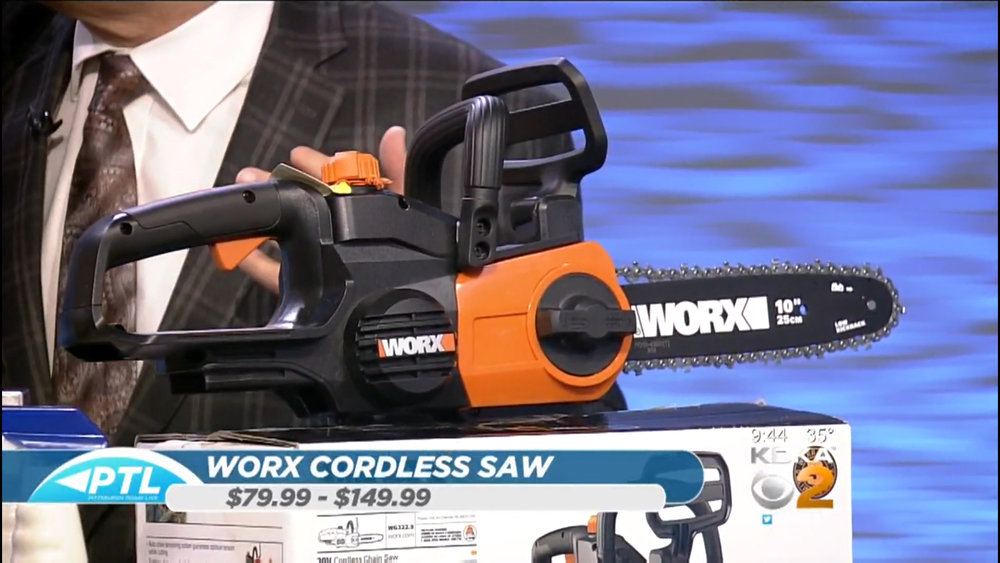 WORX CORDLESS CHAINSAW – POLESAW - $79.99 - $149.99Shop Now
