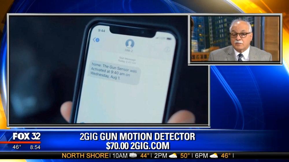 2GIG GUN MOTION DETECTOR - $70.00Shop Now