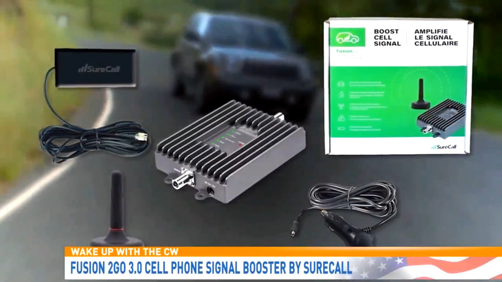 """FUSION 2GO 3.0 ""CELL PHONE SIGNAL BOOSTER BY SURECALL - $399.00Shop Now"