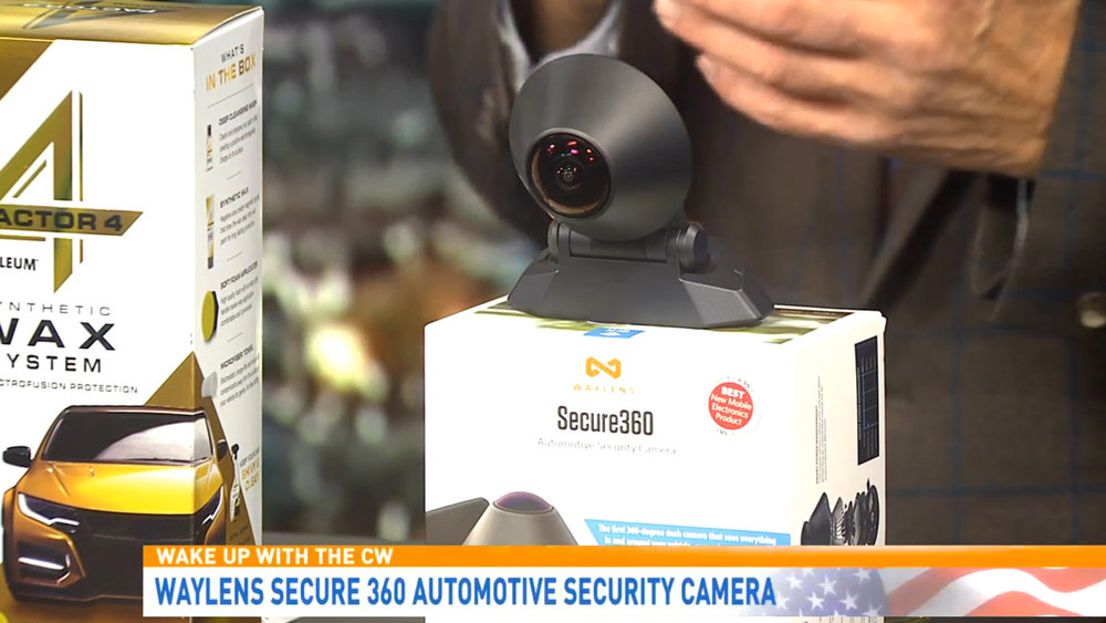 WAYLENS SECURE 360 AUTOMOTIVE SECURITY CAMERA - $399.99Shop Now