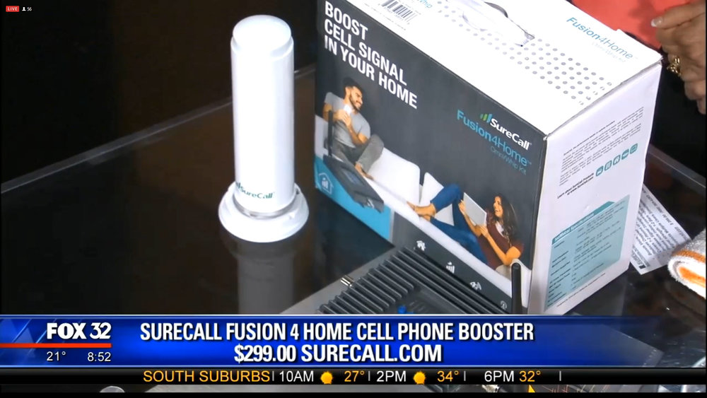 SURECALL FUSION 4 HOME CELL PHONE BOOSTER - $199Shop Now