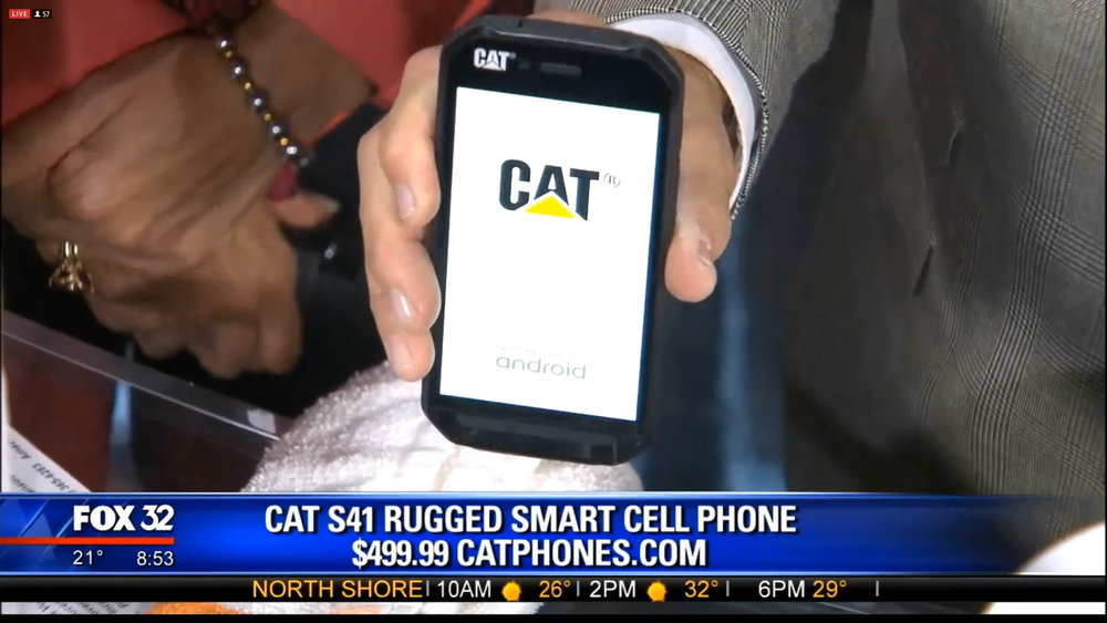 CAT S41 RUGGED SMART CELL PHONE - $499.99Shop Now