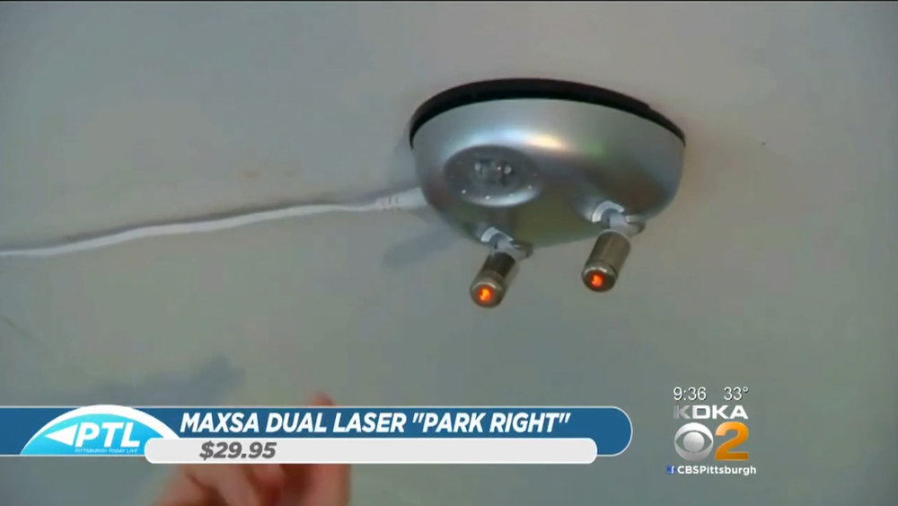 """MAXSA DUAL LASER """"PARK RIGHT"""" (BATTERY OPERATED) - $29.95Shop Now"""