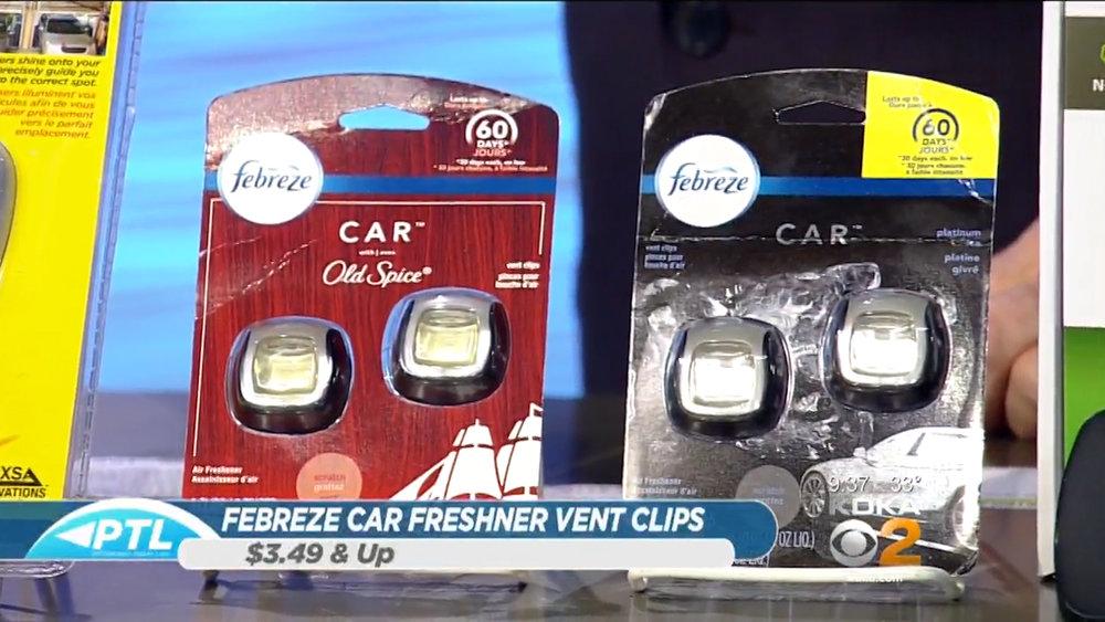 FEBREZE CAR FRESHENER VENT CLIPS - Starting at $3.49Shop Now