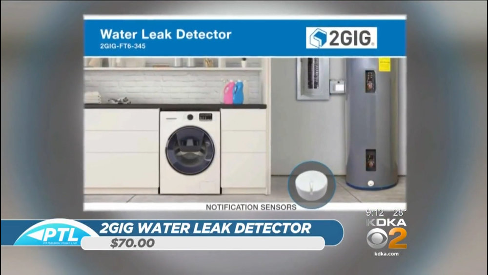 2GIG WATER LEAK DETECTOR - $70.00Shop Now