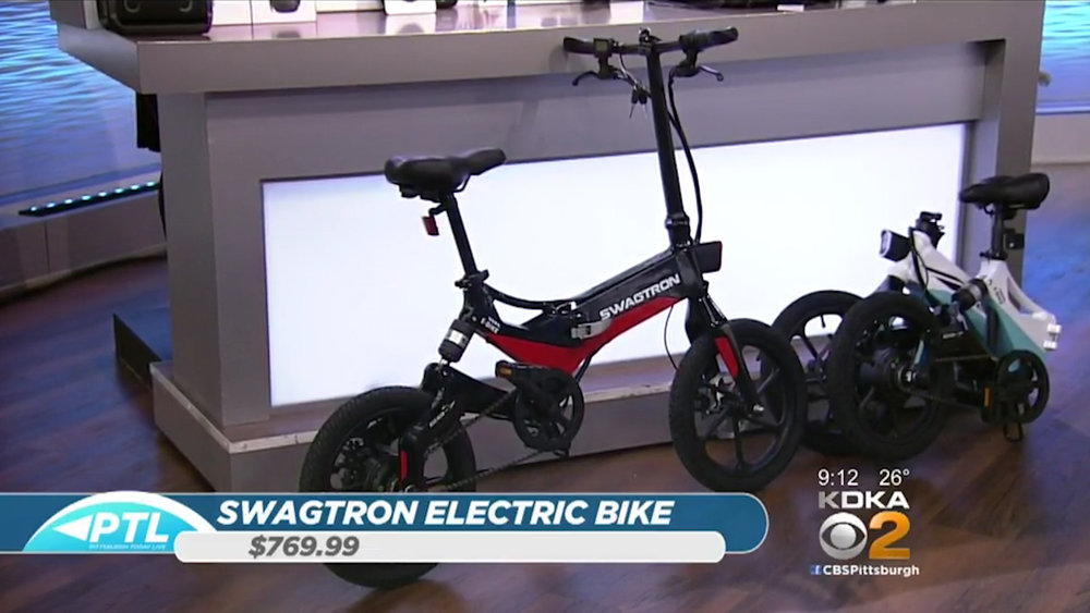 SWAGTRON EB7 FOLDING ELECTRIC BIKE - $769.99Shop Now
