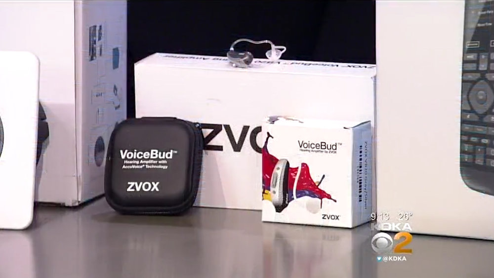ZVOX VoiceBud VB20 Hearing Amplifiers Dual-Microphone FDA Registered - $299.99 eachShop Now