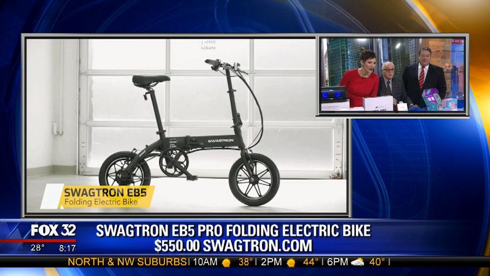 SWAGTRON EB5 PRO FOLDING ELECTRIC BIKE - $550.00Shop Now