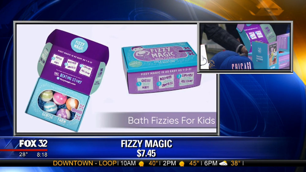 FIZZY MAGIC - Singles $ 7.45Box of 5 with Book $24.95Shop Now