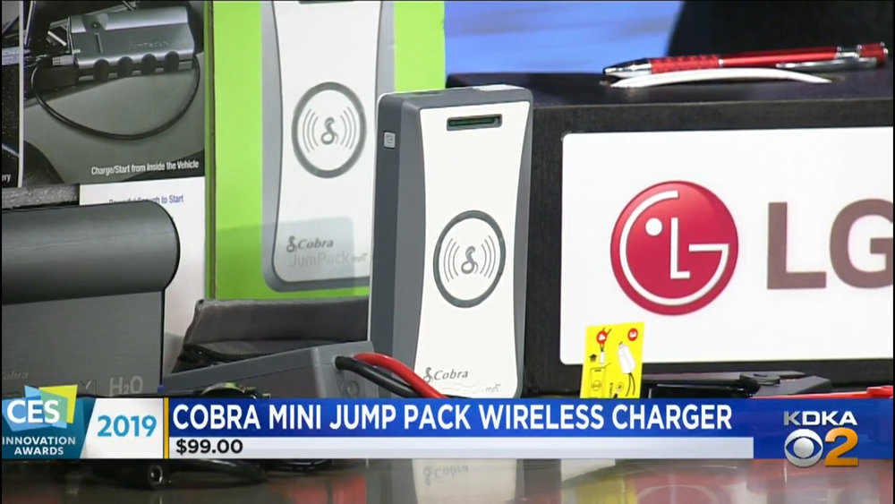 COBRA MINI JUMP PACK WIRELESS CHARGER - $99.00Shop Now