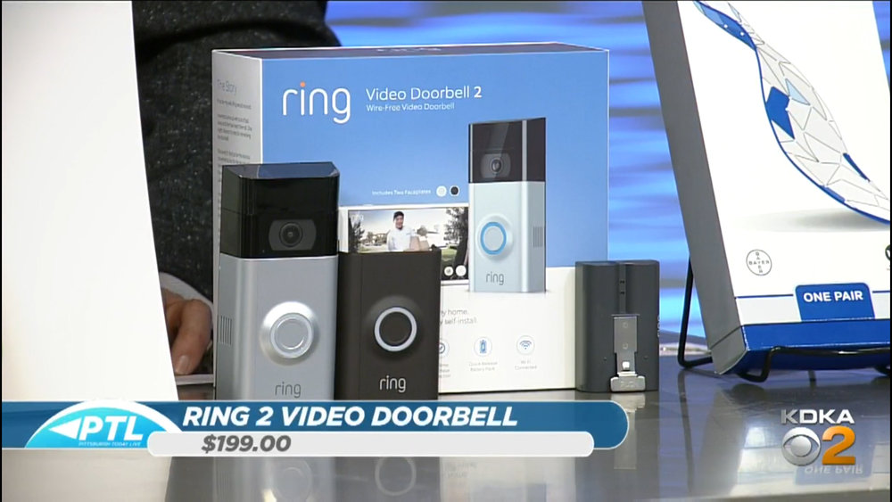RING 2 VIDEO DOORBELL - $199.00Shop Now