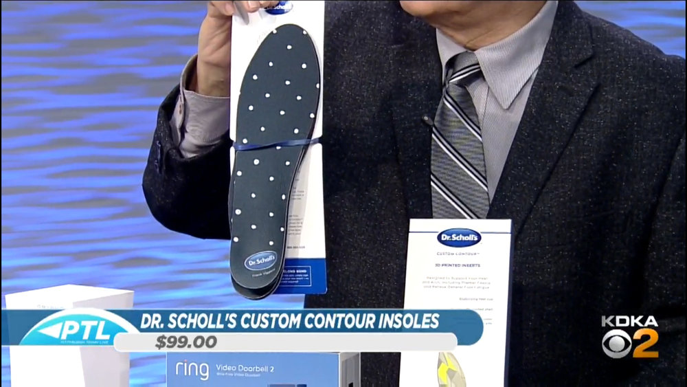 DR. SCHOLL'S CUSTOM CONTOUR PRINTED INSOLES - $99.00Shop Now