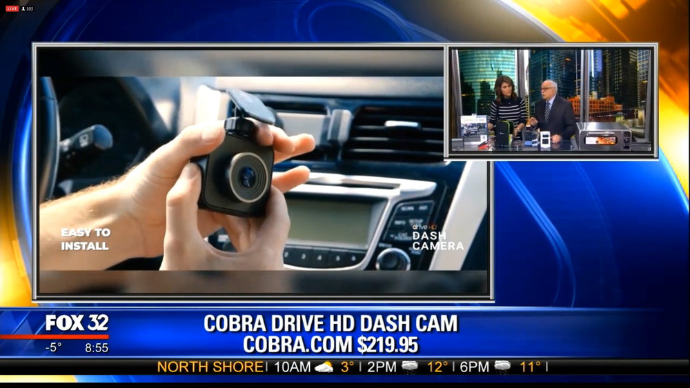 COBRA DRIVE HD DASH CAM - $219.95Shop Now