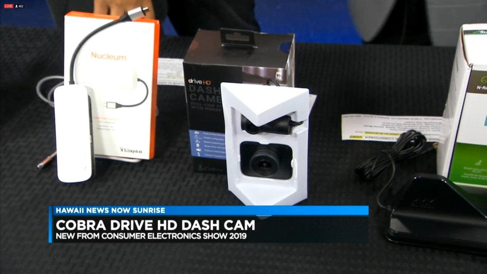 COBRA DRIVE HD DASH CAM - $219.95Shop Now