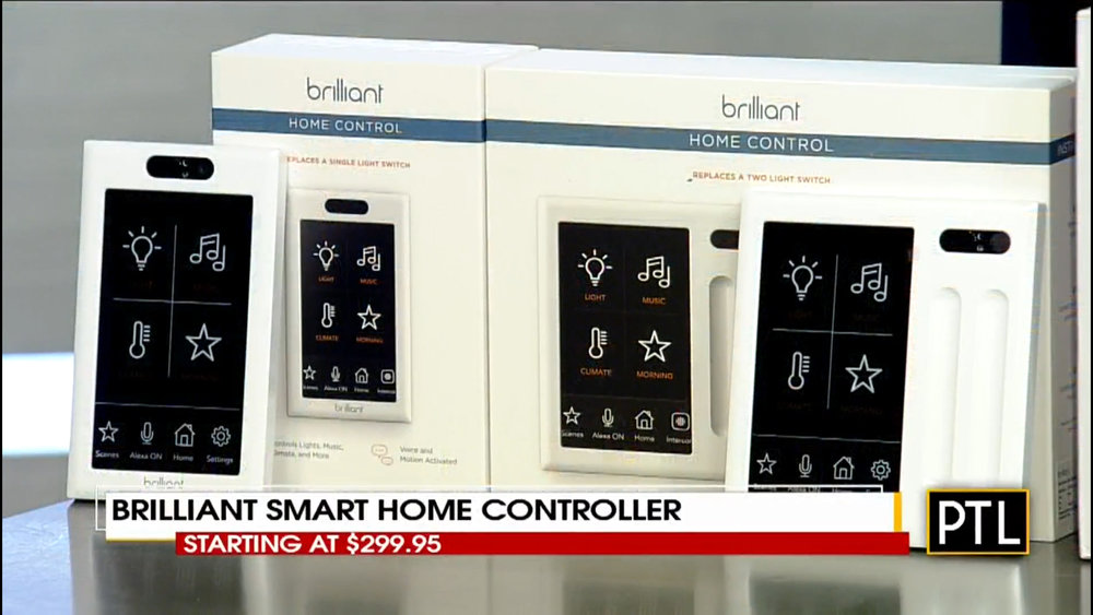 BRILLIANT SMART HOME CONTROLLER - Starting at $299.95Shop Now