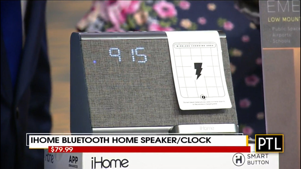 iHOME iBTW39 BLUETOOTH HOME SPEAKER/CLOCK - $79.99Shop Now