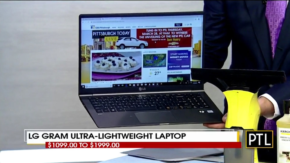"""LG GRAM ULTRA-LIGHTWEIGHT LAPTOP     - Sizes from 13"""" to 17""""$1099.00 to $1999.00Shop Now"""