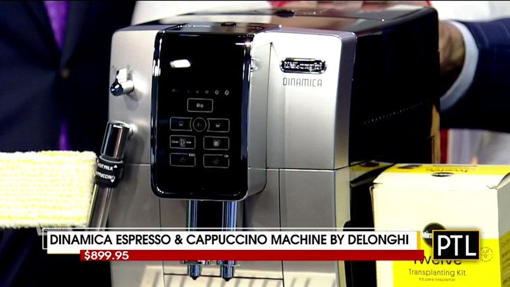 DINAMICA ESPRESSO & CAPPUCCINO MACHINE by DELONGHI - $899.95Shop Now