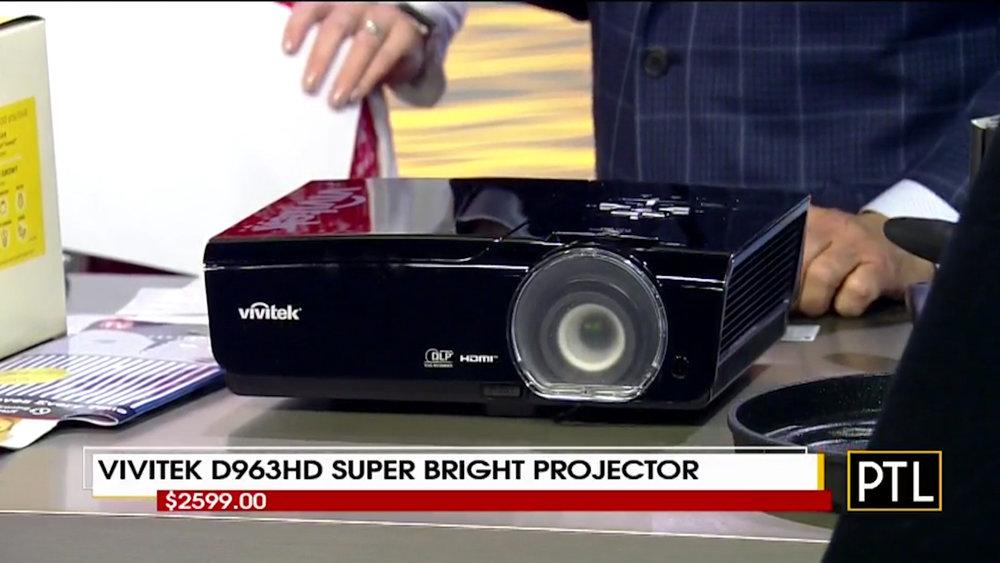 VIVITEK D963HD SUPER BRIGHT PROJECTOR - $2599.00Shop Now