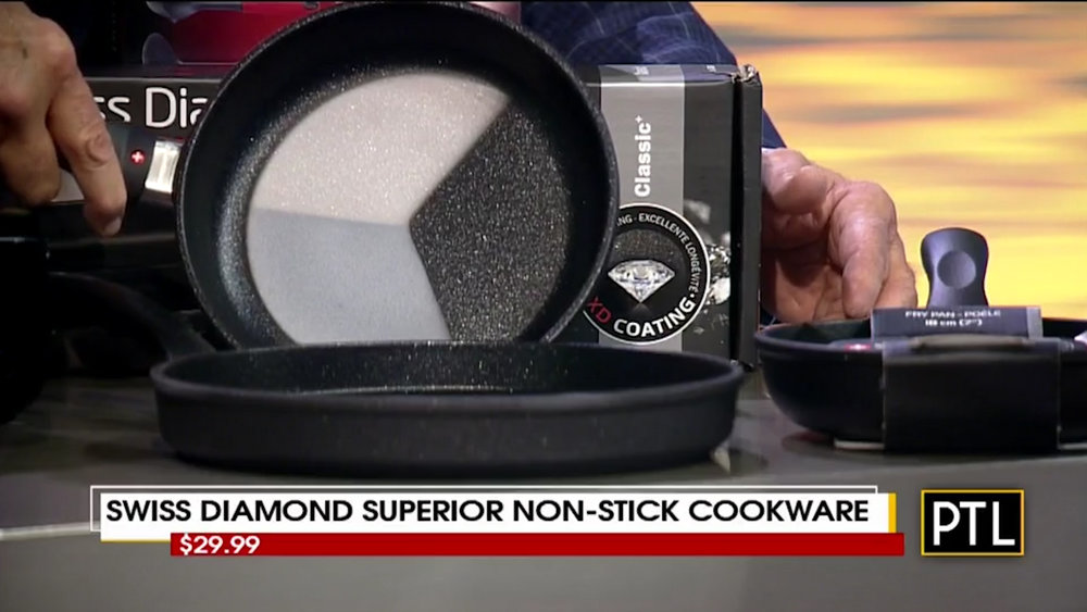 SWISS DIAMOND SUPERIOR NON-STICK COOKWARE - Starting at $29.99Shop Now