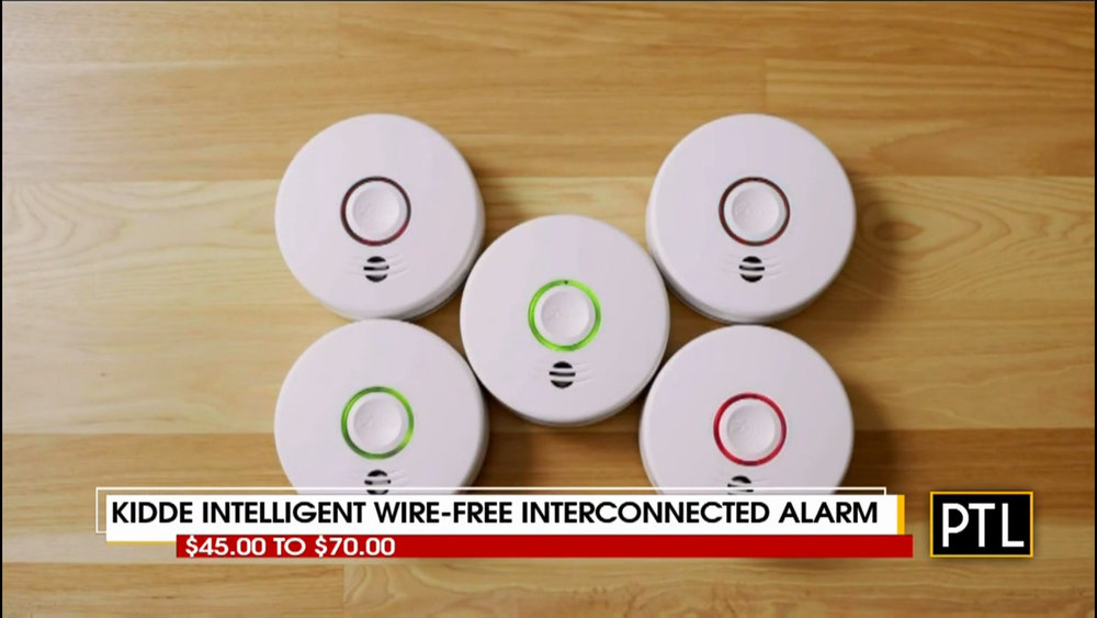 KIDDE INTELLIGENT WIRE-FREE INTERCONNECTED ALARM - $45.00 to $70.00Shop Now