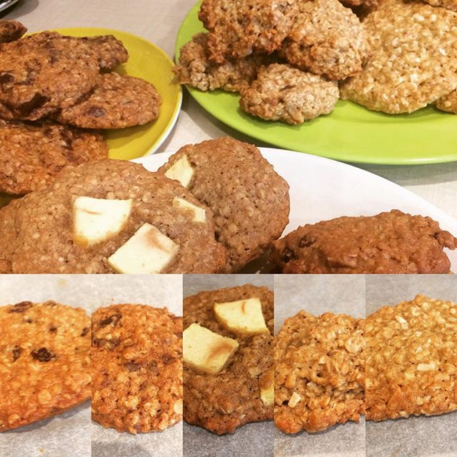 Oatmeal Cookie Baking