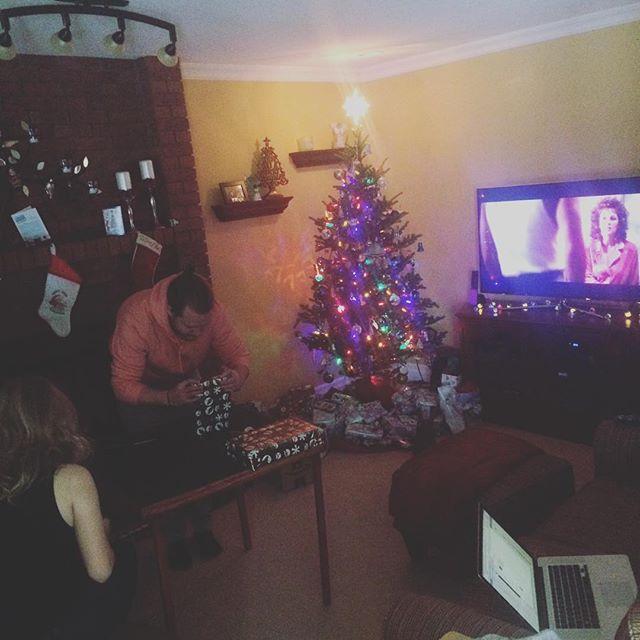 Hidden Fire, Tree, Die Hard…  #Christmas #Yippeekiyay #YouAskForMiraclesTheo #IGiveYouTheFBI #AhhhYoureOneOfThem #PartyOnThe30thFloor #QuarterBackIsToast #Gennero